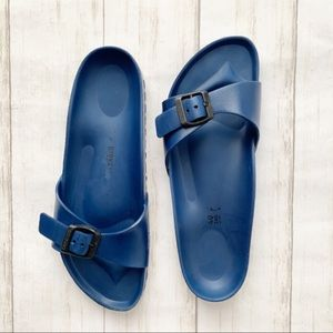 Birkenstock Madrid Essentials Eva Blue Sandal 40
